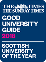Good University Guide Scottish University of the Year 2018