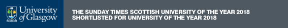 University of Glasgow: The Times Scottish University of the Year 2018