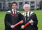 Thomas Lividin and David McKendrick graduating - 2 December 2008