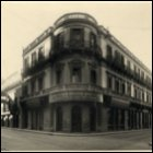 Photograph of the Gourock Ropeworks' office in Buenos Aires, Argentina.  It opened in 1888 and traded chiefly in manila rope, cotton, and flax sail cloth.  (GUAS Ref: UGD 42/9/4/2.  Copyright reserved.)