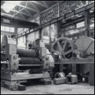 Photograph from a brochure showing a cane crushing mill, which was one of two mills supplied to Haughton Sugar Company in Australia, c1960. (GUAS Ref: UGD 52/1/2/8 p6. Copyright reserved.)