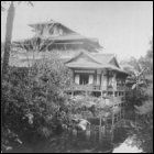 A photograph of a shrine in Kyoto, c1880. Henry Napier, grandson of Robert Napier, toured Japan, kept a diary and took photographs of his visit. (GUAS Ref: DC 90/4/2/3. Copyright reserved.)