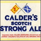 James Calder & Co (Brewers) Ltd acquired brewing premises at Marsa, Malta in 1944.  This is a beer label for James Calder & Co. (Malta) Ltd, Brewers, Malta.  (GUAS Ref: JC 11/11/18.  Copyright reserved.)