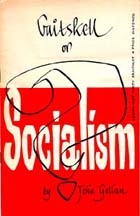 Gaitskell or Socialism? (Sp Coll Bissett 1273) Links to more information about this book