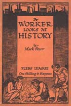 A Worker looks at History (Sp Coll Carmichael 87) Links to more information about this book