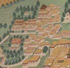 "Detail of plate depicting view of Lhasa from W. W. Rockhill's ""Tibet : a geographical, ethnographical, and historical sketch, derived from Chinese sources"" (S.l. : 1891) Sp Coll Waddell q340 - Links to more information on this book."