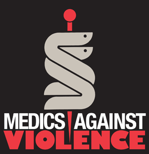 Medics Against Violence Logo