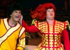 Gerard Kelly and Elaine C Smith in pantomime.