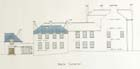 Architectural drawing (elevation) in colour, 1908 (MS Hislop 61) Links to Hislop collection description.