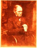 Rev Dr George Cook: a salt print developed from a calotype negative; follow the link for more information about this photograph