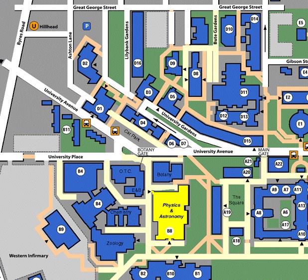University Of Glasgow Campus Map University of Glasgow   Schools   School of Physics & Astronomy  University Of Glasgow Campus Map
