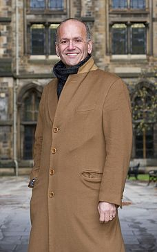 Former BBC Dragon, Doug Richard at the University of Glasgow