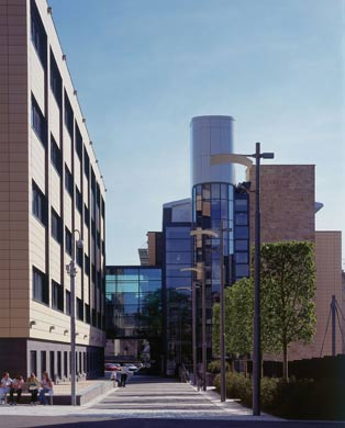 BHF Glasgow Cardiovascular Research Centre Building