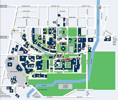 Glasgow Uni Map i P For more information see glasgow.ac.uk/maps. Updated June 2019 P