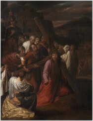 Christ and the Women of Jerusalem, Samuel van Hoogstraeten