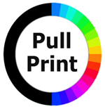 Pull Printing -colour