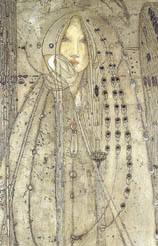 Margaret Macdonald Mackintosh The Seven Princesses (detail)
