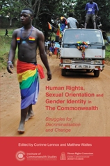 Book cover: Human Rights, Sexual Orientation and Gender Identity in The Commonwealth