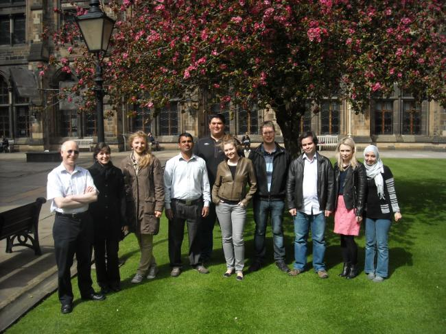 Richard Hartley research group photo May 2013