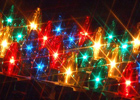Image of festive fairy lights