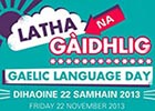 Gaelic Language day poster