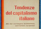 "Picture of book ""Tendenze del capitalismo italiano"""