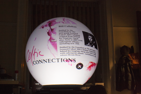 Celtic Connections globe