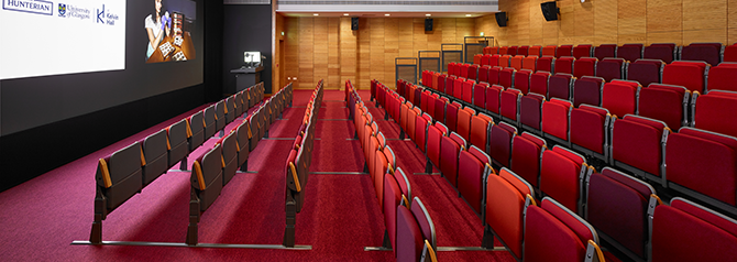 Lecture theatre in Kelvin Hall