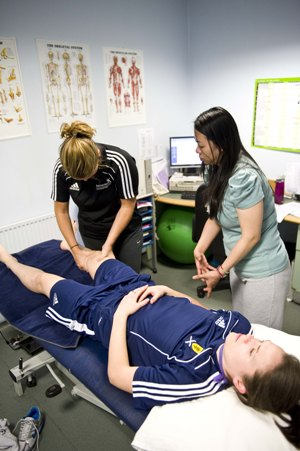 sports student physio