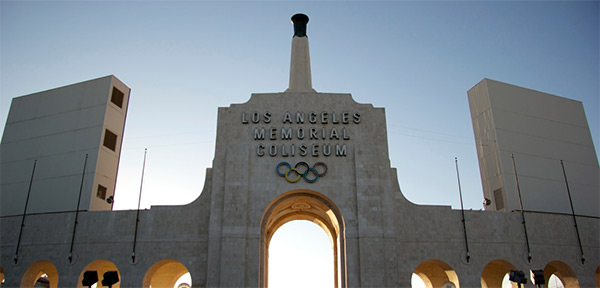 Olympic Stadium in Los Angeles