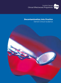 Cover of Decontamination into Practice guidance document