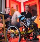 Rehabilitation and excercise on a trike