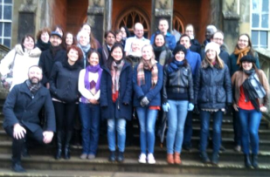 Sociology PhD Student Away Day at Ross Priory, Loch Lomond, 14 February 2014