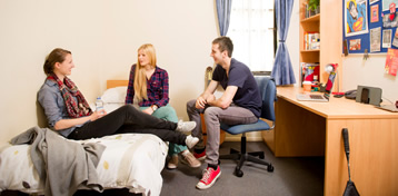 image of postgrads in accommodation 358x176