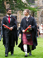 Tall image of two graduants