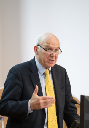 Vince Cable at announcement of £10m SMS-IC funding 13/3/14