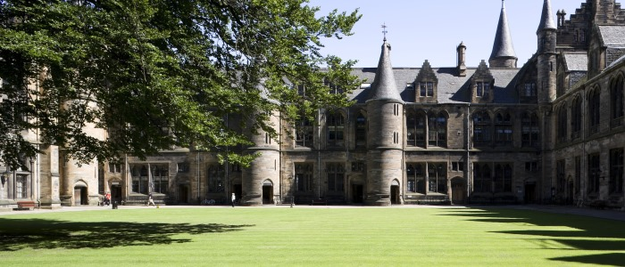 View of the east quadrangle