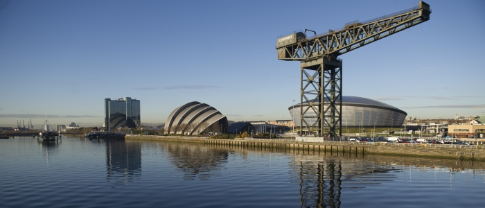 SECC, The Hydro & Clydeport crane