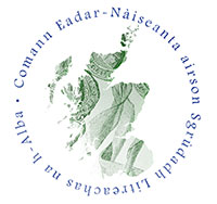 International Association for the Study of Scottish Literature Gaelic logo
