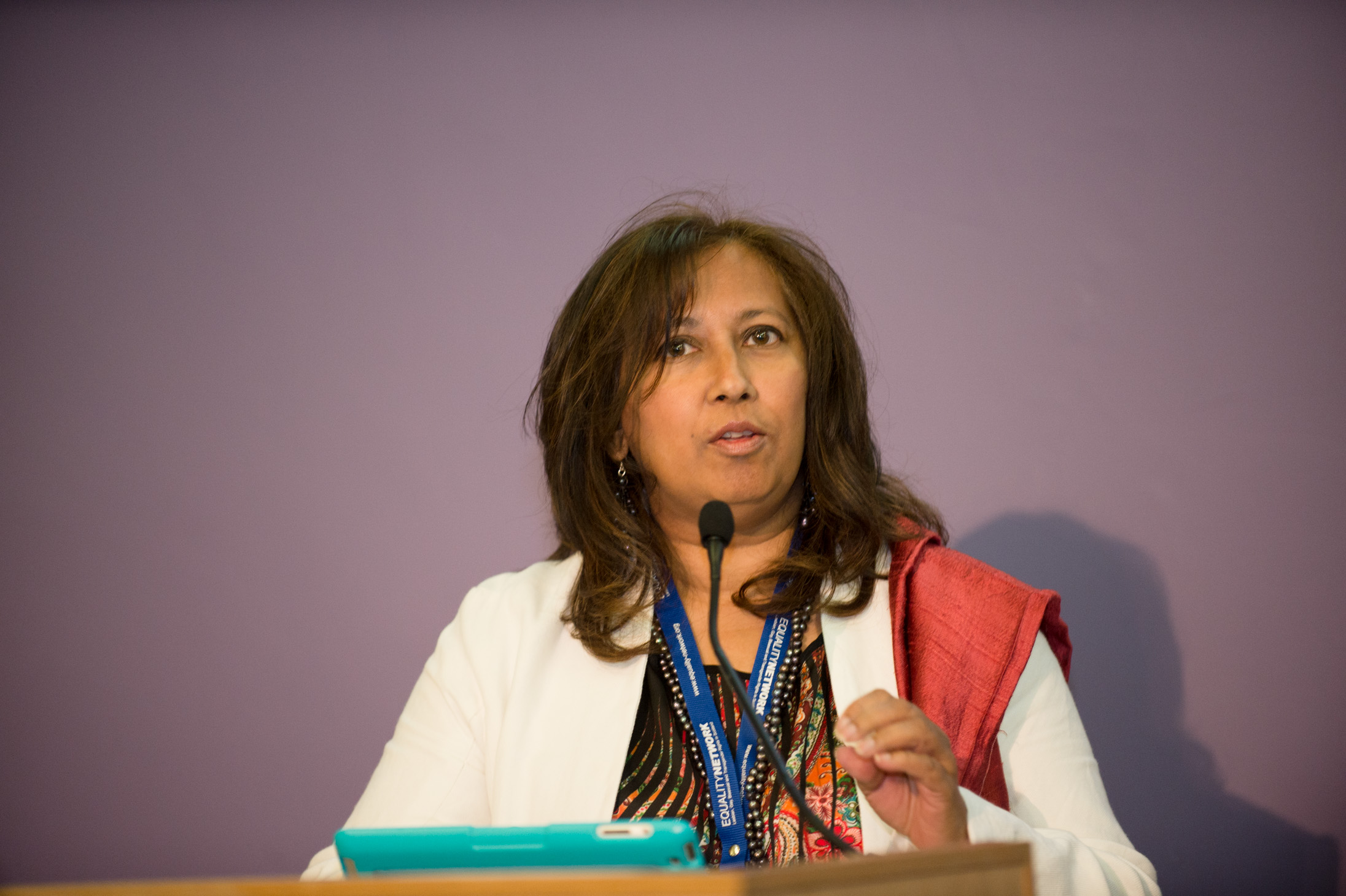 Purna Sen, Chair of Kaleidoscope Trust
