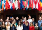 Politics society visits Brussels