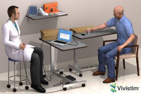 Vivistim system for stroke rehabilitation