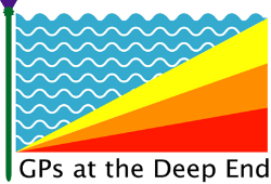 GPs at the deep end logo