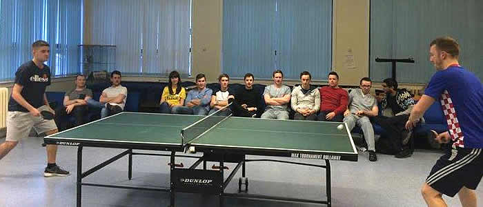 Final Match of the GDSS Table Tennis Tournament