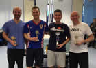 Winner and Runners up of GDSS Table Tennis Tournament