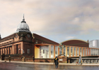 Visualisation of the completed Kelvin Hall renovation 2015