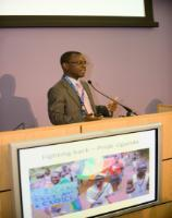 Photos from LGBTI Human Rights in the Commonwealth conference, 18 July 2014, with keynote speaker Dr. Frank Mugisha
