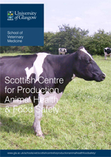 Scottish Centre for Production Animal Health & Food Safety leaflet cover