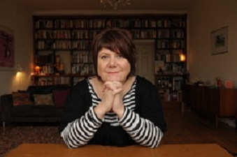 Portraits of Louise Welsh by Steve Lindridge of 