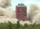 Image of the Red Road flats explosion